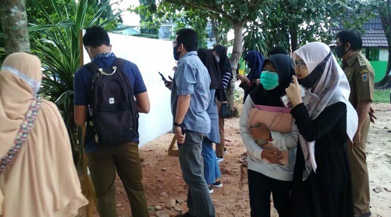 Suasana Pengumuman PPDB di SMAN 2 Banjarbaru